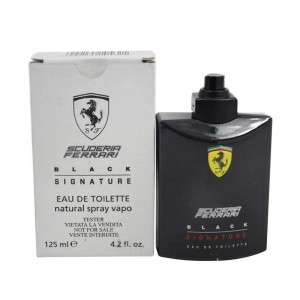 Ferrari Scuderia Black Signature 125 Ml tester