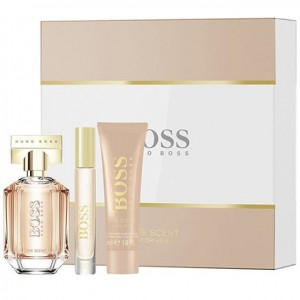 HUGO BOSS Boss The Scent For Her 100 ml+50Ml+7,4Ml