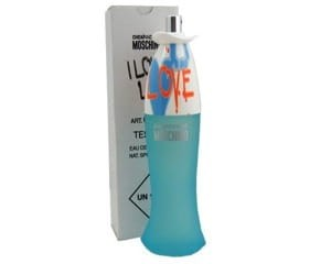 MOSCHINO I LOVE LOVE WODA TOALETOWA 100ML TESTER