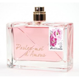 John Galliano Parlez-Moi dAmour 80ml edp, tester